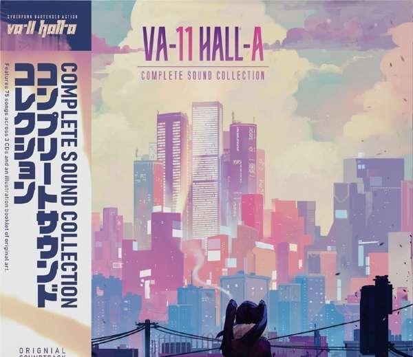 Va-11 Hall-a: a Complete Sound Collection - Garoad - Musik - CARGO DUITSLAND - 4059251291527 - 7/2-2019