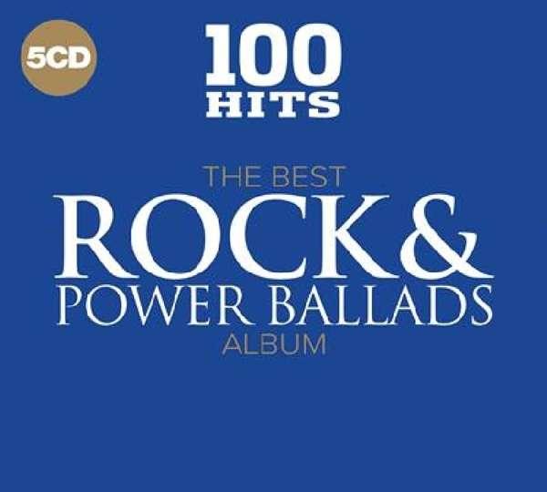100 Hits - The Best Rock & Power Ballads Album - Various Artists - Musik - 100 HITS - 0654378720529 - 3/11-2017