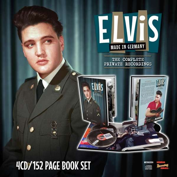 Made in Germany - the Complete Private Recordings (4cd + 152 Page Book) - Elvis Presley - Musik - MEMPHIS RECORDING - 5024545847529 - 8/3-2019