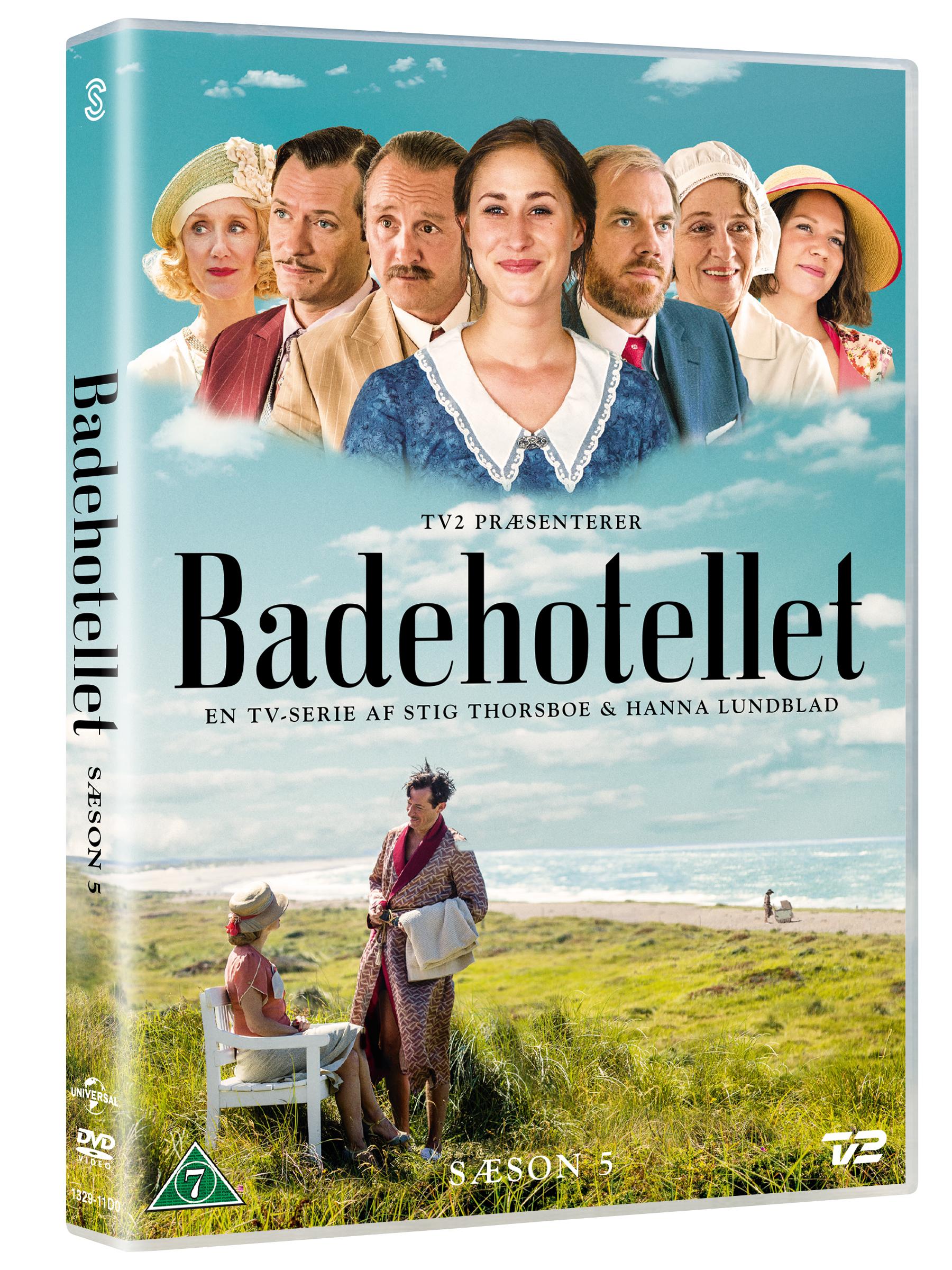 Badehotellet - Sæson 5 - Badehotellet - Film -  - 5706169001531 - 11/10-2018
