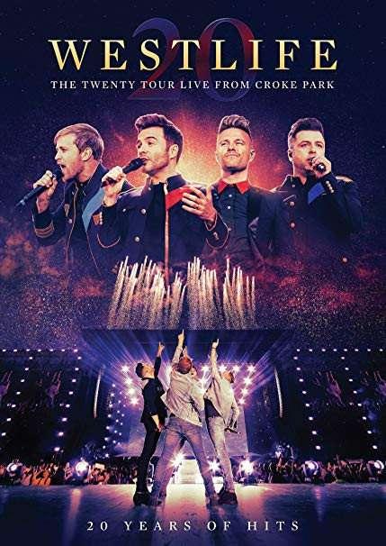 Twenty Tour Live from Croke Park - Westlife - Film - EAGLE ROCK ENTERTAINMENT - 0602508500541 - 13/3-2020