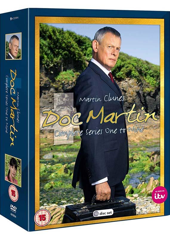 Doc Martin Series 1-9 Boxed Set - TV Series - Film - ACORN - 5036193035548 - 25/11-2019