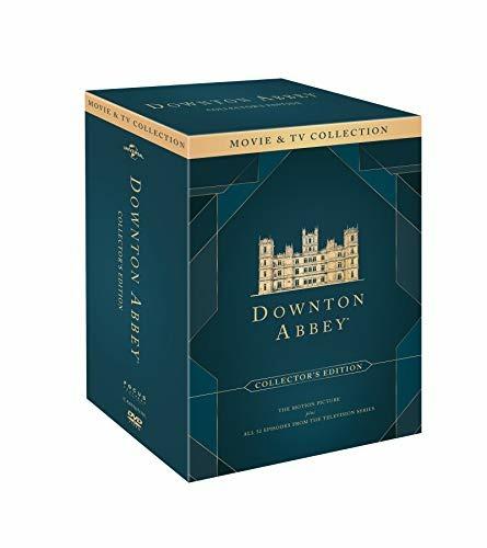 Downton Abbey - Coll.compl.st.1-6 + Film ( Box 25 Dv) - Carter,bonneville,james-collier,dockery,froggatt,mcshera,nicol,finneran - Film - UNIVERSAL - 5053083225551 -