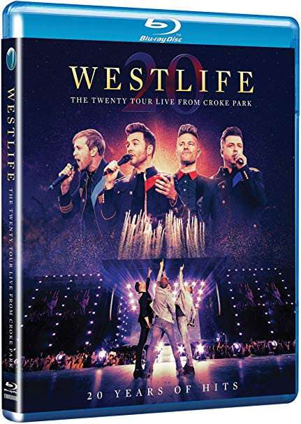 Twenty Tour Live from Croke Park - Westlife - Film - EAGLE ROCK ENTERTAINMENT - 0602508500558 - 13/3-2020