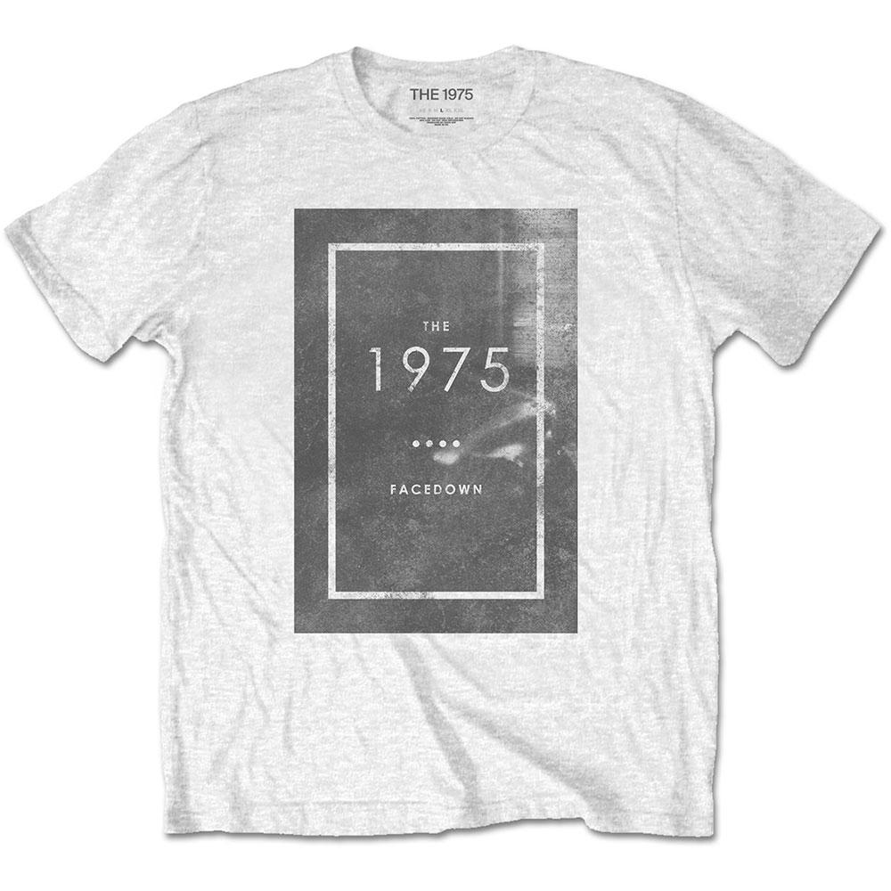 The 1975 Unisex Tee: Facedown - 1975 - The - Merchandise -  - 5056170685573 -