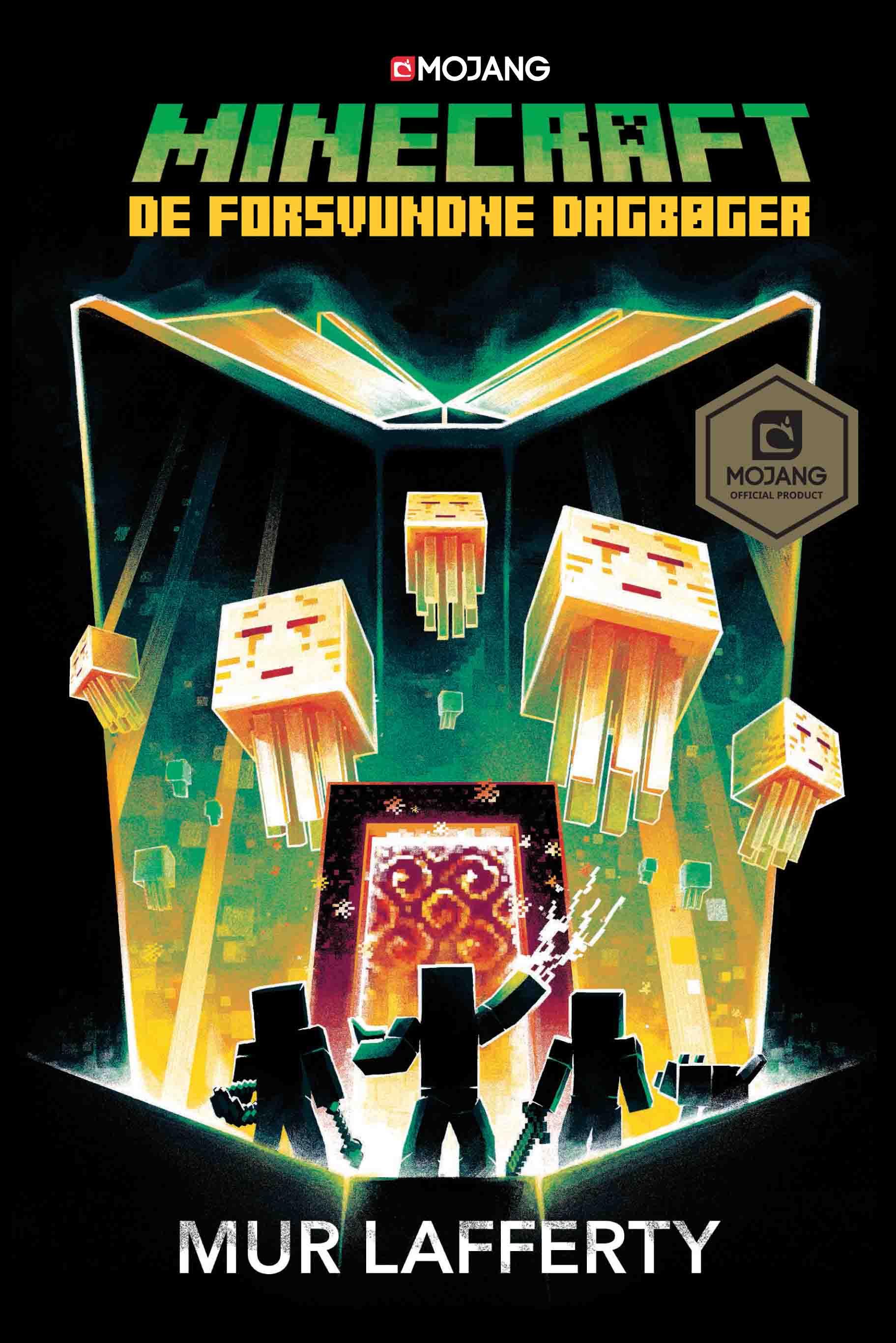 Minecraft: Minecraft - De forsvundne dagbøger - Mur Lafferty - Bøger - Politikens Forlag - 9788740051599 - 7/11-2019