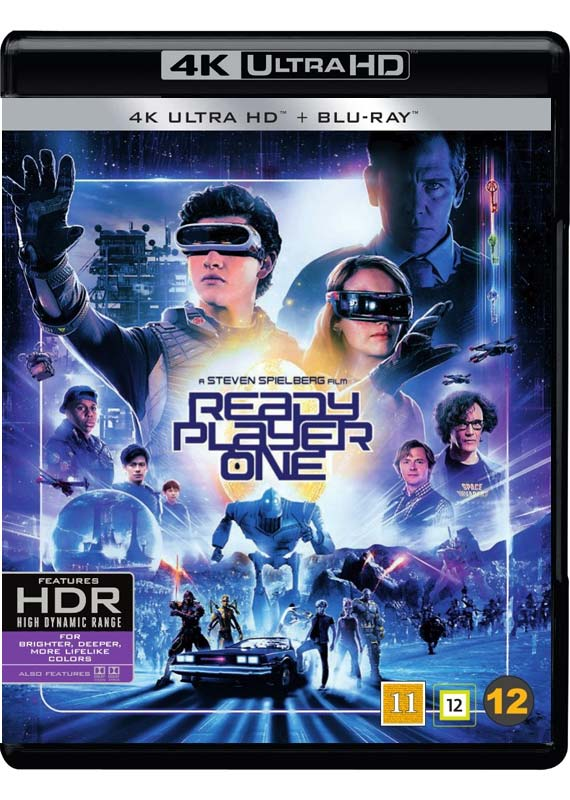 Ready Player One -  - Film -  - 7340112744601 - 9/8-2018
