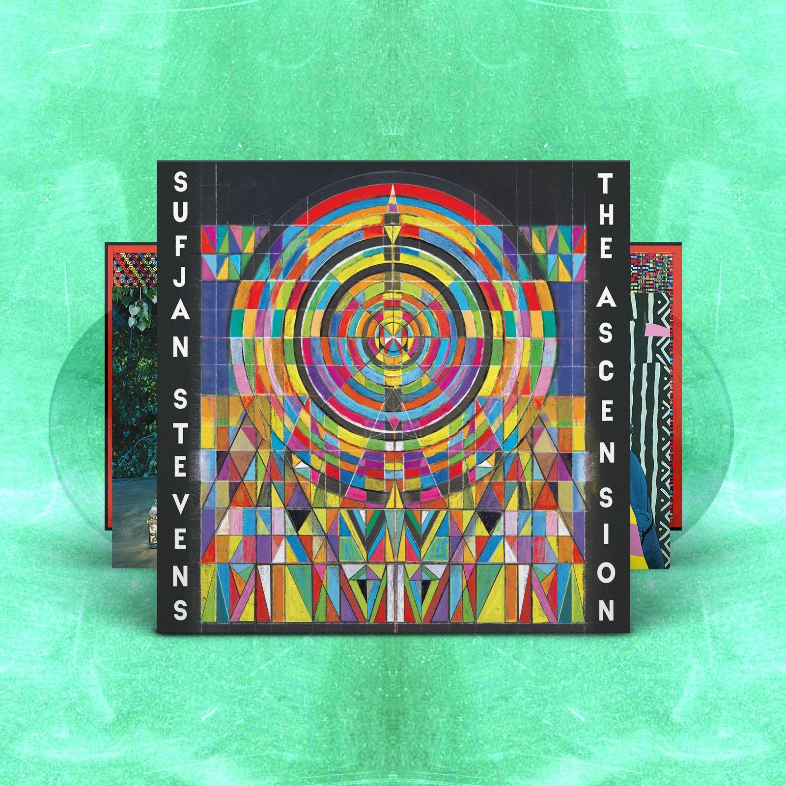 The Ascension (Clear Vinyl) - Sufjan Stevens - Musik - ASTHMATIC KITTY - 0729920164608 - 25/9-2020