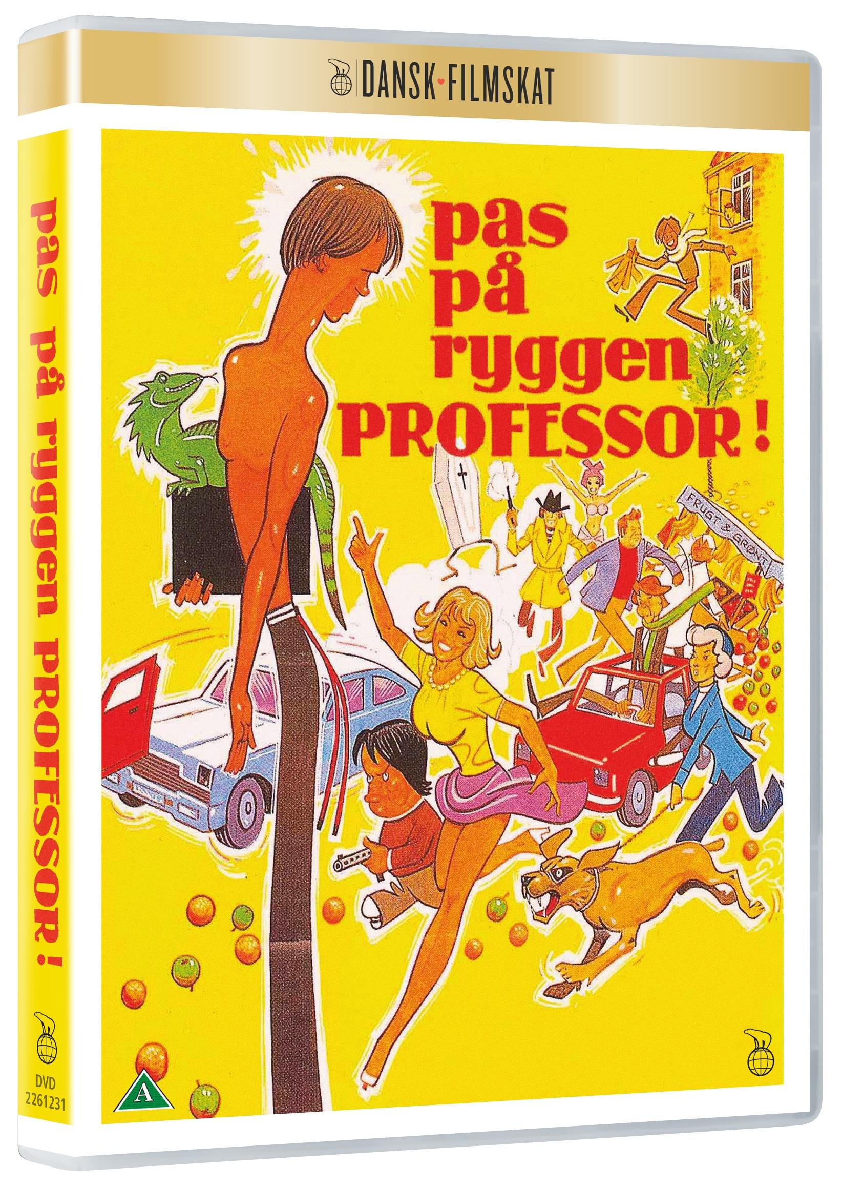 Pas På Ryggen Professor -  - Film -  - 5708758704618 - 15/5-2020