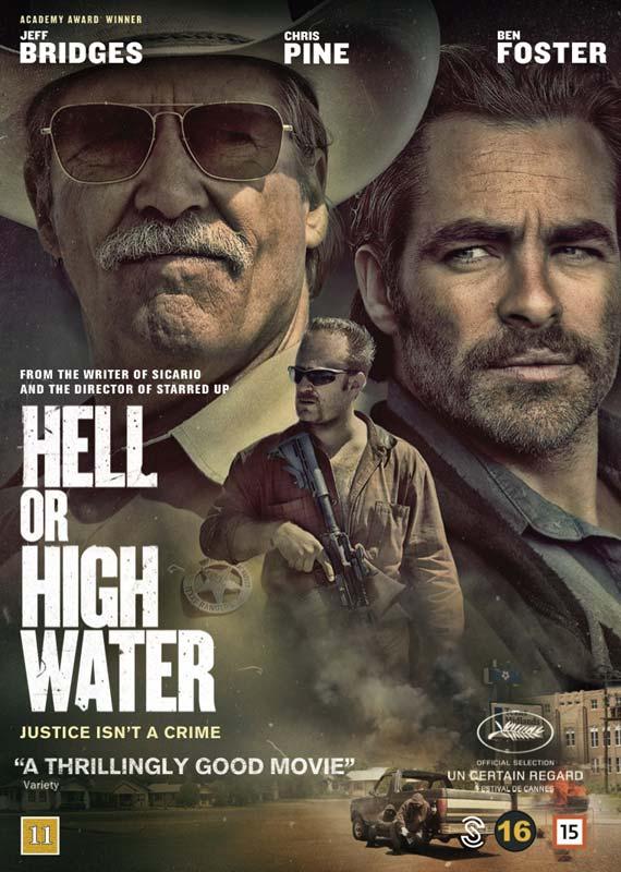 Hell or High Water - Jeff Bridges / Chris Pine / Ben Foster - Film -  - 5706100079636 - 12/4-2017