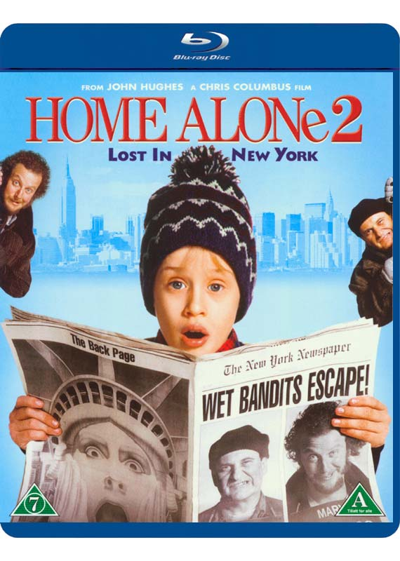 Alene Hjemme 2 - Home Alone 2 - Film - Fox - 7340112703639 - 5/4-2016