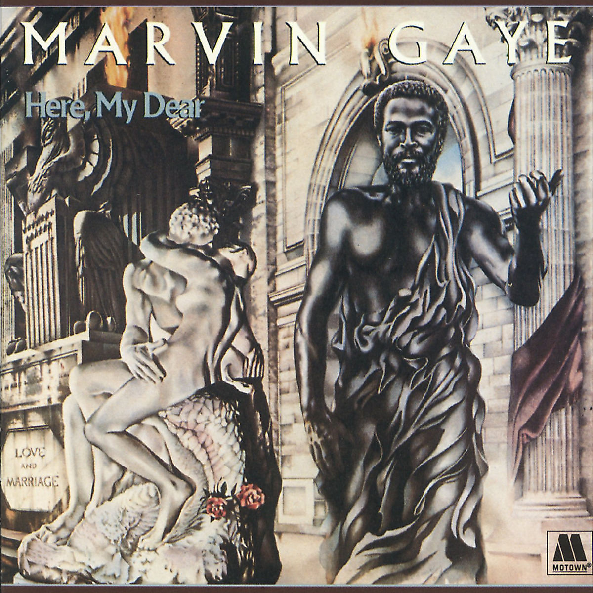 Here, My Dear - Marvin Gaye - Musik - MOTOWN - 0600753667644 - 27/5-2016