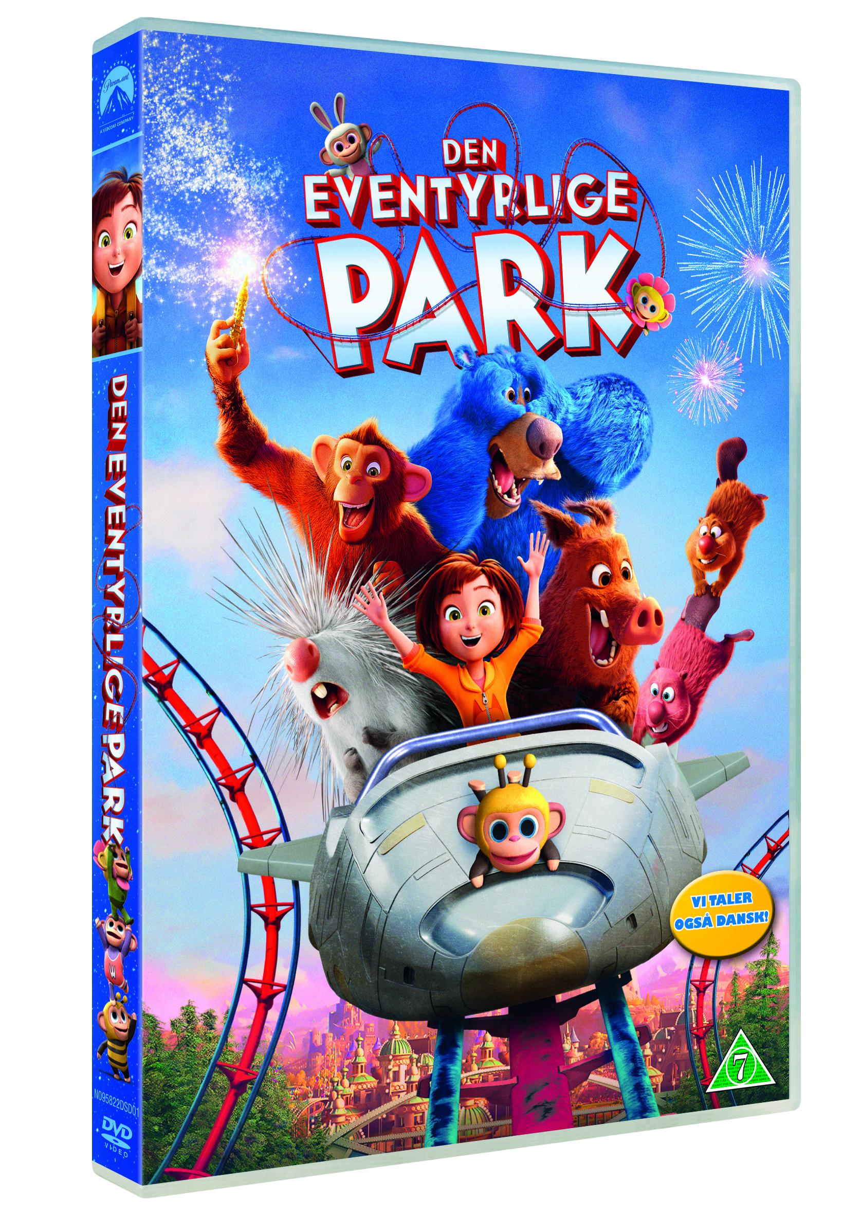 Den Eventyrlige Park DVD -  - Film -  - 7340112749644 - 26/8-2019