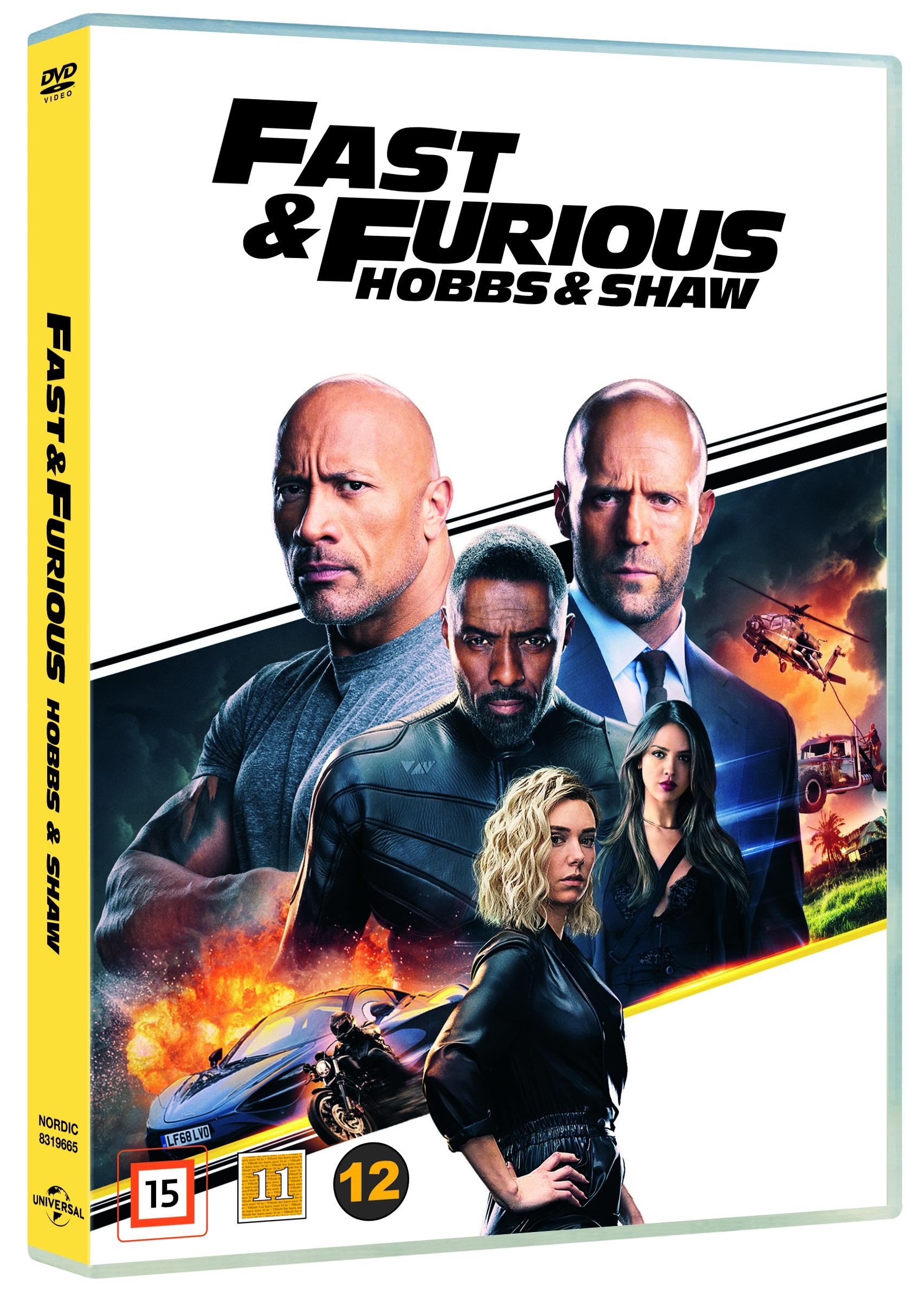 Fast & Furious: Hobbs & Shaw -  - Film -  - 5053083196653 - 12/12-2019