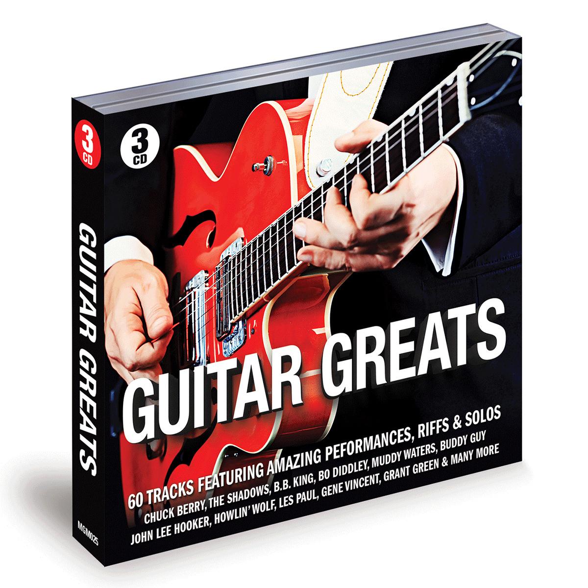 Guitar Greats - V/A - Musik - MY GENERATION MUSIC - 5060442750654 - 2/2-2017