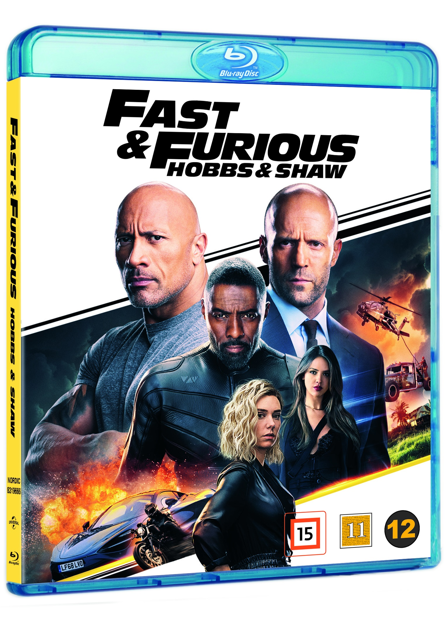 Fast & Furious: Hobbs & Shaw -  - Film -  - 5053083196660 - 12/12-2019