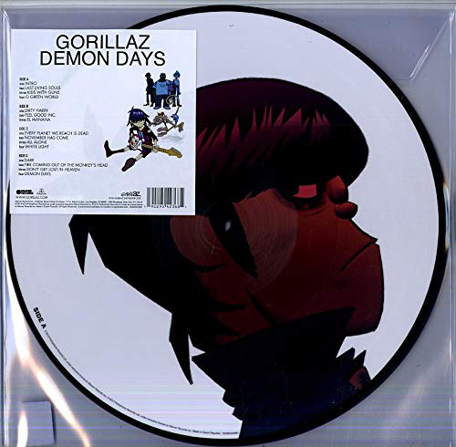 Demon Days (Picture Disc) - Gorillaz - Musik - PLG UK Frontline - 0190295423681 - 4/10-2019