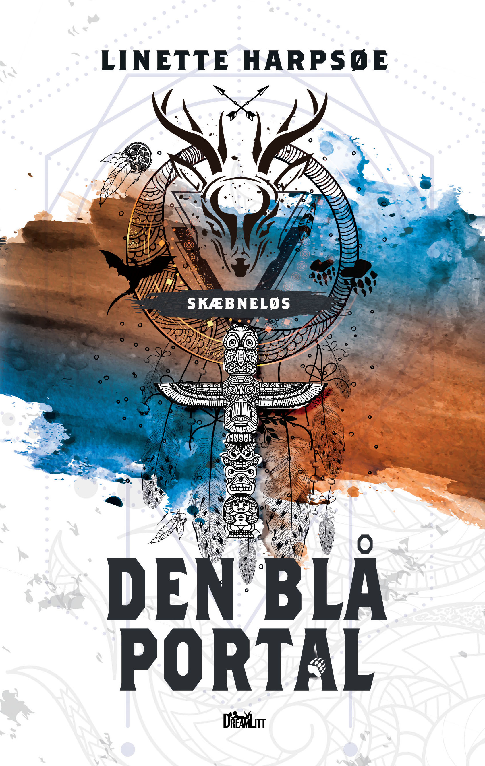 Skæbneløs: Den blå portal - Skæbneløs 2 - Linette Harpsøe - Bøger - DreamLitt - 9788771714692 - 10/9-2019
