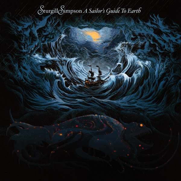 A Sailor's Guide to Earth - Sturgill Simpson - Musik - COUNTRY - 0075678666698 - 15/4-2016