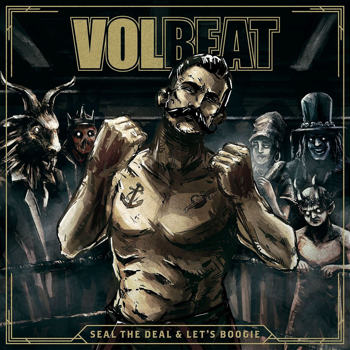 Seal The Deal & Let's Boogie - Volbeat - Musik - UNIVERSAL - 0602547805706 - 3/6-2016