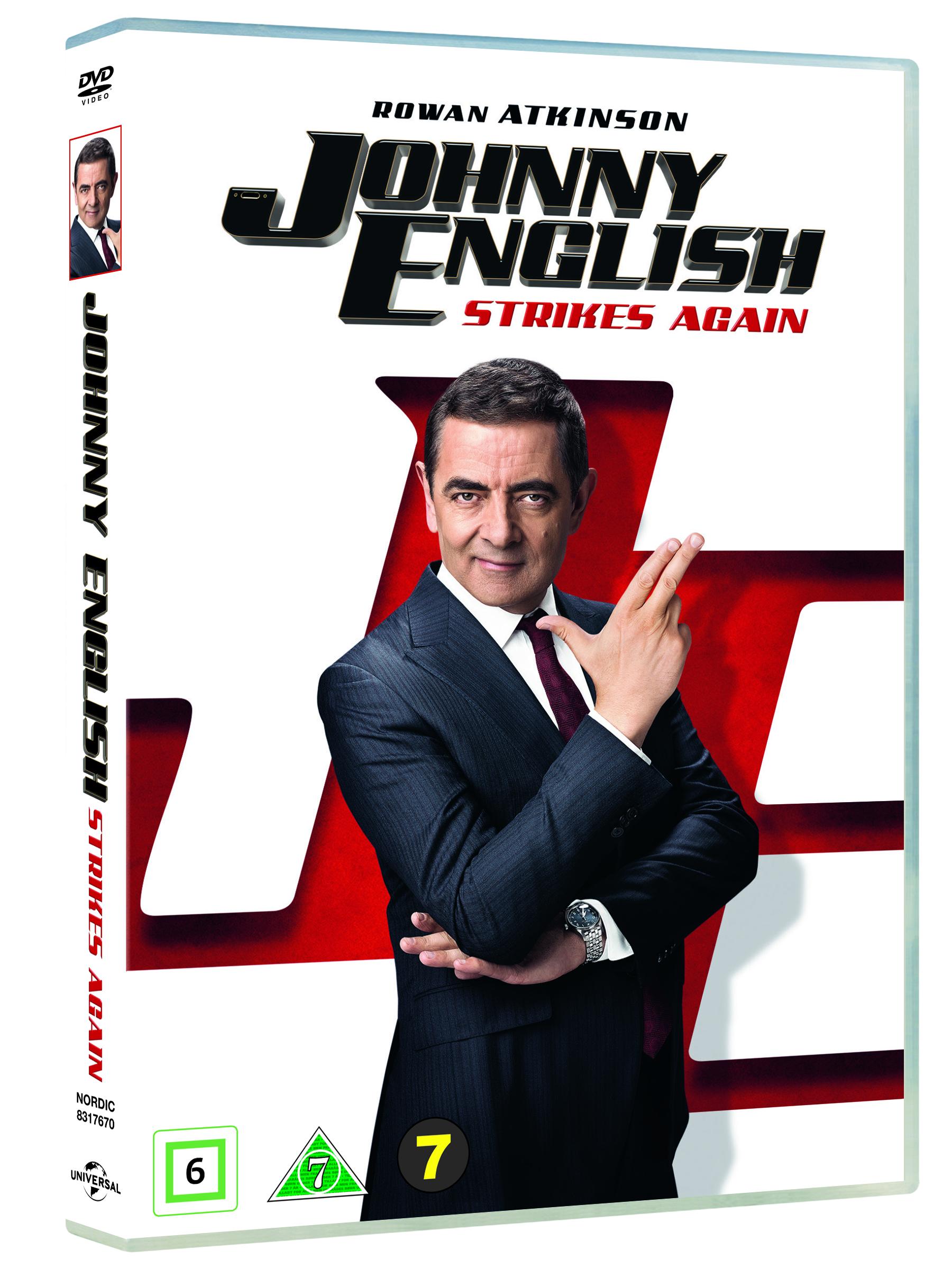 Johnny English Strikes Again -  - Film -  - 5053083176709 - 28/2-2019