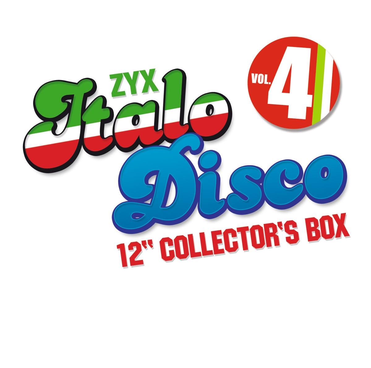 Italo Disco 12 Inch Collector's Box 4 - V/A - Musik - ZYX - 0090204691715 - 27/7-2017
