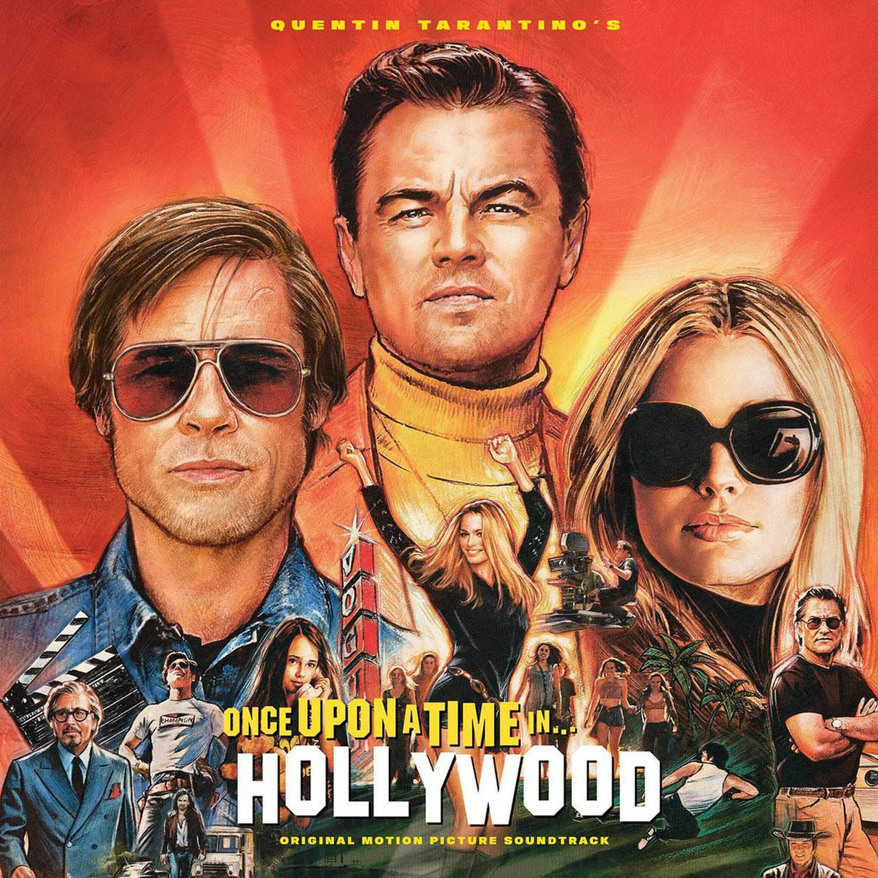 entin Tarantino's Once Upon a Time in Hollywood (Soundtrack) -  - Musik - COLUMBIA - 0190759819715 - 25/10-2019