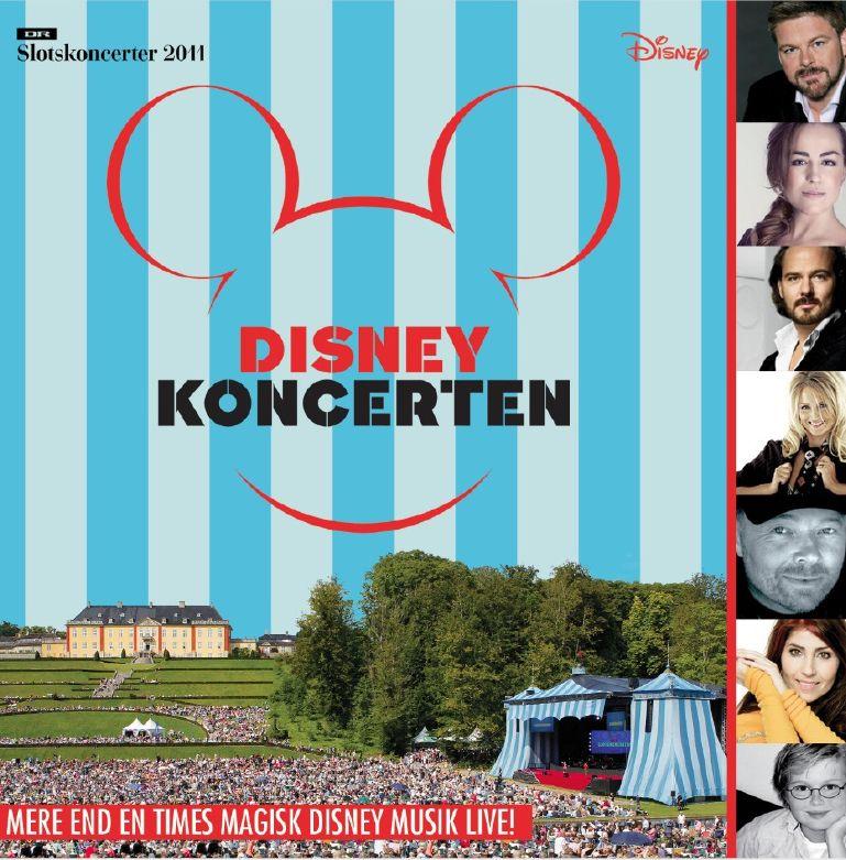 Disney Koncerten - Diverse Kunstnere - Musik - CAPITOL - 5099930434721 - 5/12-2011