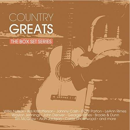 Country Greats - the Box Set Series - V/A - Musik - SONY MUSIC - 0888750166722 - 14/11-2014