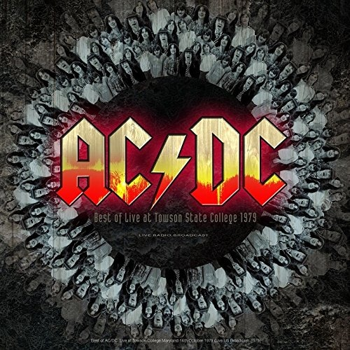 AC/DC - Best Of Live At Towson State Colleg - AC/DC - Musik - CULT LEGENDS - 8717662572722 - 1970