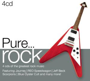 Pure...rock 4 CD - Various Artists - Musik - ROCK - 0887254499725 - 12/9-2012