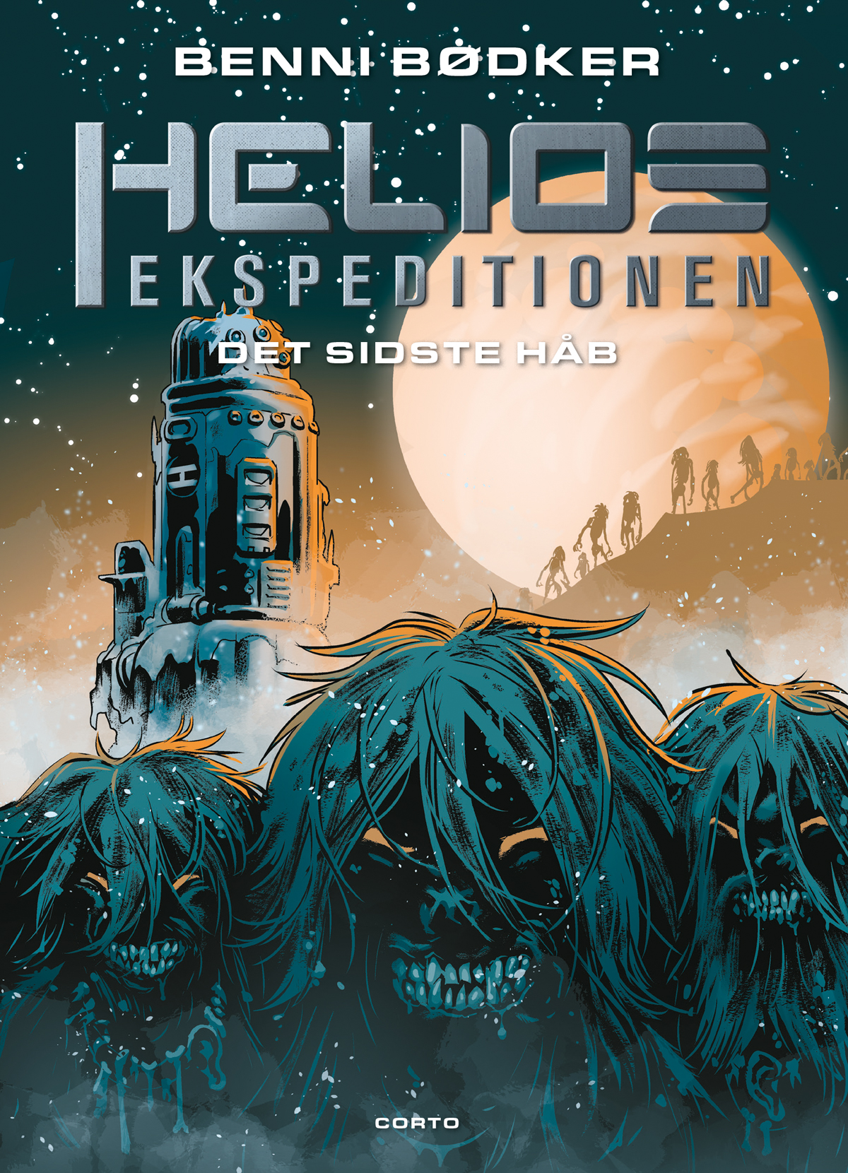 HELIOS-EKSPEDITIONEN: Det sidste håb - Benni Bødker - Bøger - Forlaget Corto - 9788793497726 - 6/1-2020