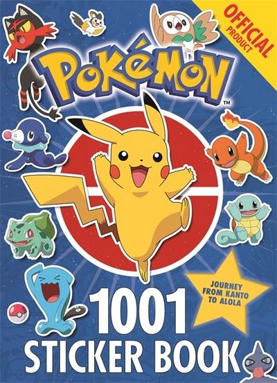 The Official Pokemon 1001 Sticker Book - Pokemon - Pokemon - Bøger - Hachette Children's Group - 9781408354735 - 27/2-2018