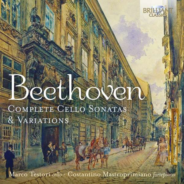 Complete Cello Sonatas & Variations - Beethoven - Musik - BRILLIANT CLASSICS - 5028421961743 - 2/10-2020