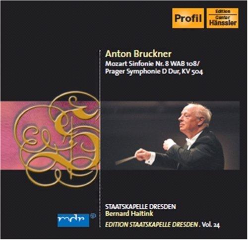 Sinfonie 8/prager Sinfonie - Bruckner / Mozart - Musik - PROFIL - 0881488705751 - 10/2-2010