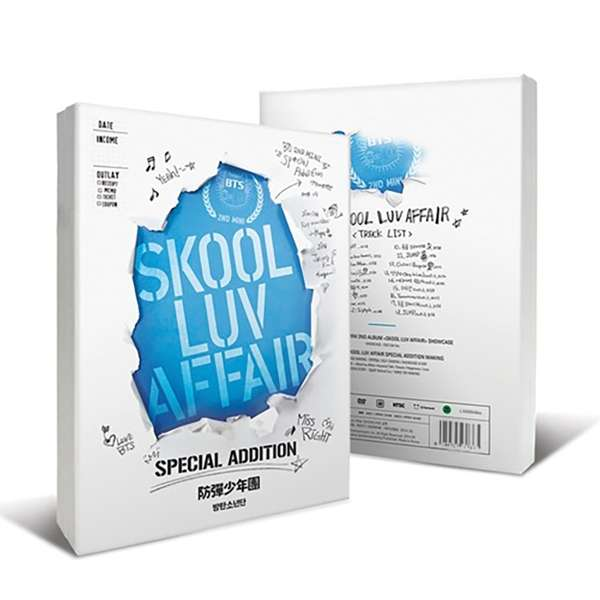 SKOOL LUV AFFAIR SPECIAL ADDITION  <CD+2 DVD> - BTS - Musik - Big Hit Entertainment - 8804775137761 - 15/10-2020