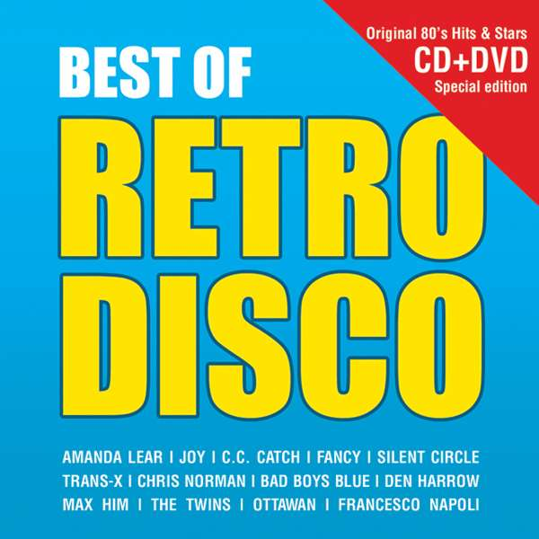 Best of retro Disco - Válogatás - Film - HAR P - 5880099601778 - 24/4-2015