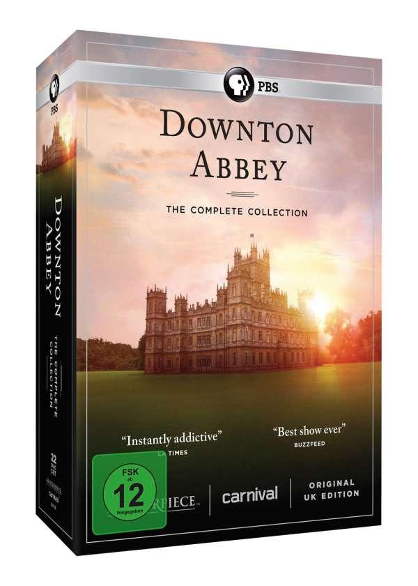 Downton Abbey (Komplette Serie) - Movie - Film - 852 ITV CARNIVAL EXTERNAL - 5053083125783 - 19/10-2017