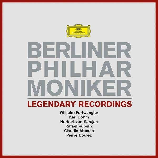 Legendary Recordings - Berliner Philharmoniker - Musik - DOMESTIC - 0028948355785 - 25/10-2018