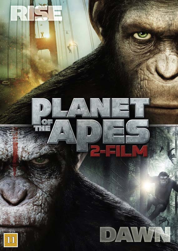 Rise to the Dawn (2-dvd) - Planet of the Apes - Film - Fox - 7340112715793 - 16/8-2017