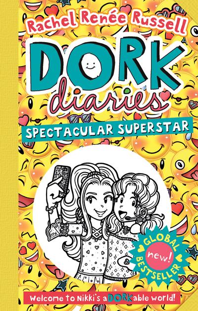 Dork Diaries: Spectacular Superstar - Dork Diaries - Rachel Renee Russell - Bøger - Simon & Schuster Ltd - 9781471172793 - 22/10-2019