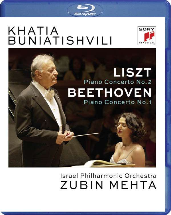 Liszt: Piano Concerto No. 2 in a Major, S 125 & Beethoven: Piano Concerto No. 1 in C Major, Op. 15 - Khatia Buniatishvili - Musik - CLASSICAL - 0889853696796 - 18/11-2016