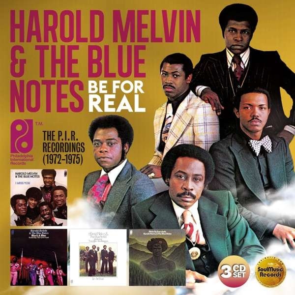Be For Real: The P.I.R. Recordings 1972-1975 - Harold Melvin & the Blue Notes - Musik - SOULMUSIC RECORDS - 5013929088801 - 23/8-2019