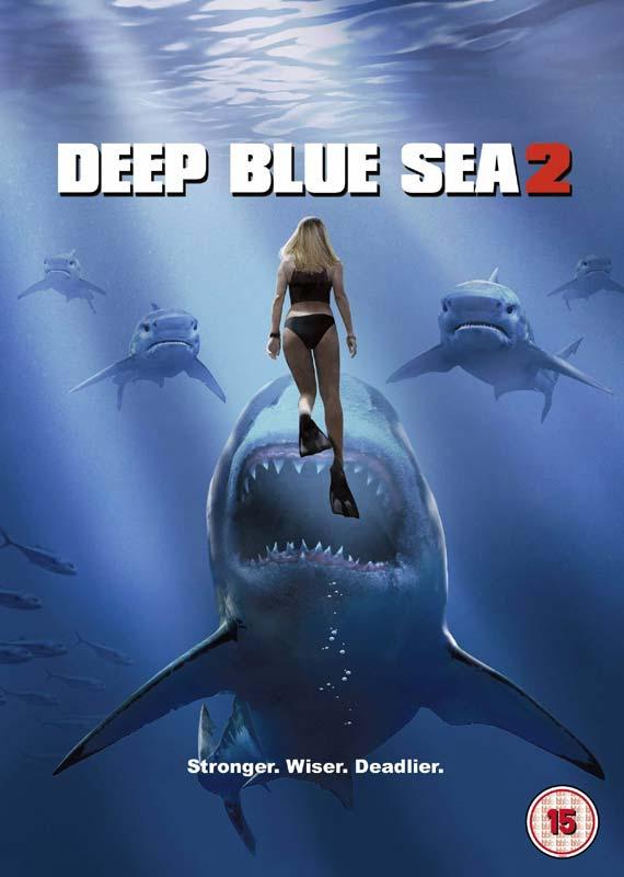 Deep Blue Sea 2 - Deep Blue Sea 2 - Film - WARNER HOME VIDEO - 5051892216807 - 23/7-2018
