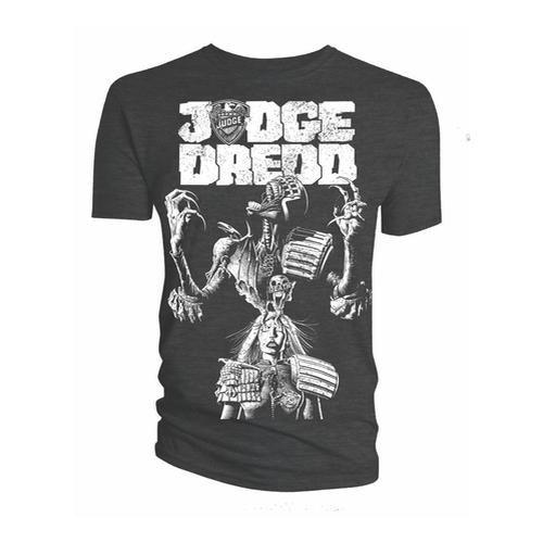 2000 AD Unisex Tee: Judge Death Cover - Judge Dredd & 2000 AD - Merchandise -  - 5052473007807 -