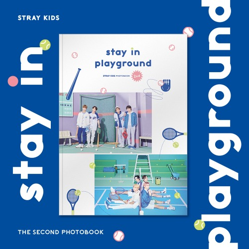 Stay in Playground - The Second Photobook - Stray Kids - Merchandise - JYP ENT. - 8809561924808 - 31/8-2020