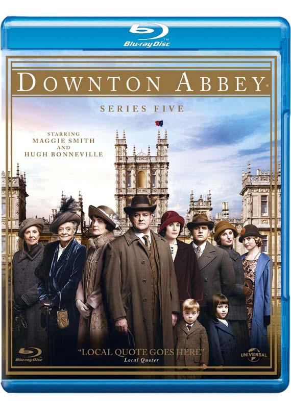 Downton Abbey  Series 5 - (UK-Version evtl. keine dt. Sprache) - Film - PLAYBACK - 5053083014810 - 17/11-2014