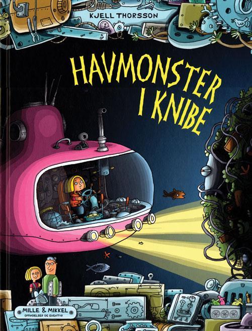 Havmonster i knibe - Kjell Thorsson - Bøger - Forlaget Flachs - 9788762725812 - 24/9-2016