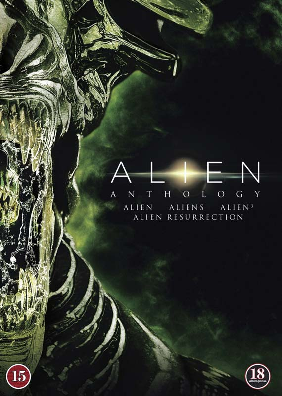 Alien Anthology 4DVD - Scott/Cameron/Fincher/Jeunet - Film -  - 7340112716813 - 9/10-2014