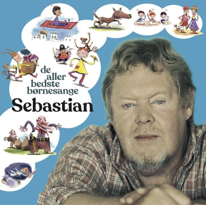 De Allerbedste Børnesange - Sebastian - Musik -  - 7332181095814 - 29/11-2019